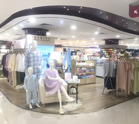 內野毛巾店鋪展示